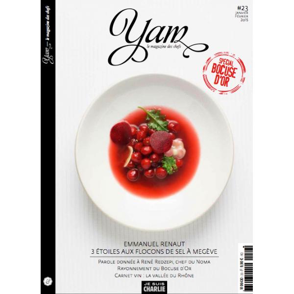 yam le magazine des chefs n 23 janvier fevrier 2015. Black Bedroom Furniture Sets. Home Design Ideas