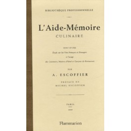 L'AIDE MEMOIRE CULINAIRE