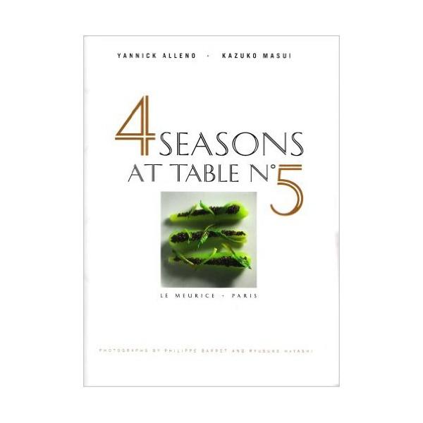 4 seasons at table n 5 meurice anglais librairie - Livre de cuisine francaise en anglais ...