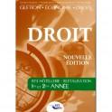 DROIT - BTS Hôtellerie restauration, 1ère et 2ème année